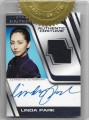 Star Trek Enterprise Season Four Trading Card Linda Park Autograph Cosutme