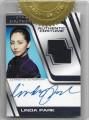 Star Trek Enterprise Season Four Trading Card Linda Park Autograph Cosutme