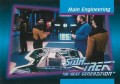 Star Trek The Next Generation Inaugural Edition Trading Card 54