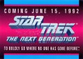 Star Trek The Next Generation Inaugural Edition Trading Card Promo Unnumbered