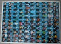 Star Trek The Next Generation Inaugural Edition Trading Card Uncut Sheet