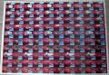 Star Trek The Next Generation Inaugural Edition Trading Card Uncut Sheet Red Cards