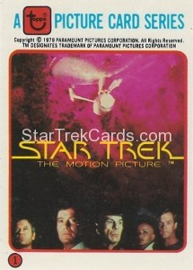 Star Trek The Motion Picture Kilpatrick's Bread Trading Card 1