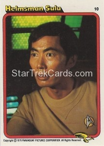 Star Trek The Motion Picture Kilpatrick's Bread Trading Card 10