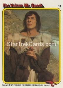 Star Trek The Motion Picture Kilpatrick's Bread Trading Card 14