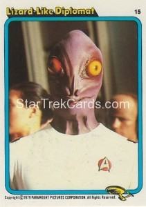 Star Trek The Motion Picture Kilpatrick's Bread Trading Card 15
