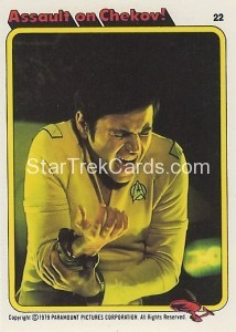 Star Trek The Motion Picture Kilpatrick's Bread Trading Card 22