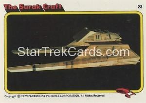 Star Trek The Motion Picture Kilpatrick's Bread Trading Card 23