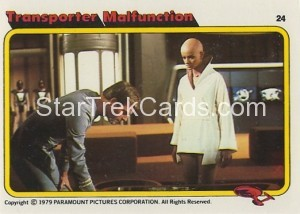 Star Trek The Motion Picture Kilpatrick's Bread Trading Card 24