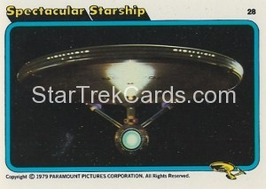 Star Trek The Motion Picture Kilpatrick's Bread Trading Card 28