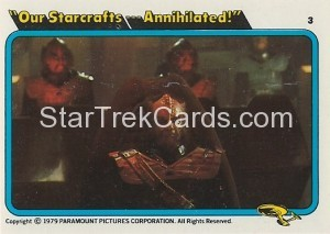 Star Trek The Motion Picture Kilpatrick's Bread Trading Card 3