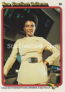 Star Trek The Motion Picture Kilpatrick's Bread Trading Card 33