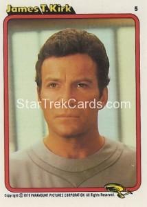 Star Trek The Motion Picture Kilpatrick's Bread Trading Card 5