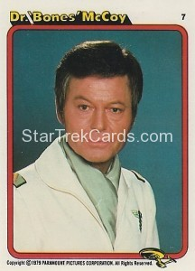 Star Trek The Motion Picture Kilpatrick's Bread Trading Card 7