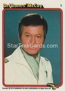 Star Trek The Motion Picture Kilpatrick's Bread Trading Card 7