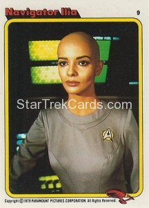 Star Trek The Motion Picture Kilpatrick's Bread Trading Card 9