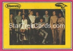 Star Trek The Motion Picture Kilpatrick's Bread Trading Card Back 14