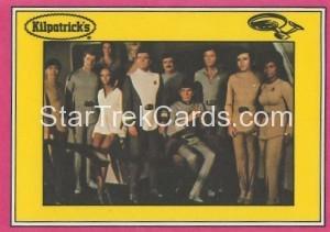 Star Trek The Motion Picture Kilpatrick's Bread Trading Card Back 15