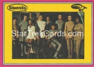 Star Trek The Motion Picture Kilpatrick's Bread Trading Card Back 24