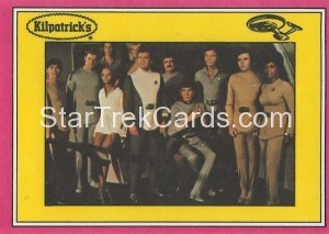Star Trek The Motion Picture Kilpatrick's Bread Trading Card Back 25