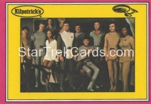 Star Trek The Motion Picture Kilpatrick's Bread Trading Card Back 6
