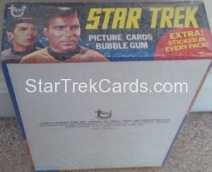 Star Trek Topps Box Bottom