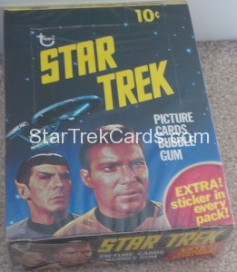 Star Trek Topps Box Top Front