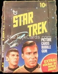 Star Trek Topps Empty Wax Box1
