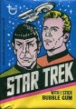 Star Trek Topps Trading Card Unopened Wax Pack