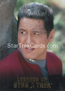 Legends Chakotay Card L9
