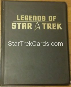 Legends of Star Trek Trading Card Binder 2003