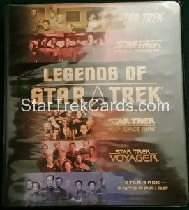 Legends of Star Trek Trading Card Binder 2008