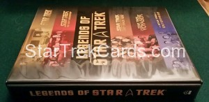 Legends of Star Trek Trading Card Binder 2008 Alternate