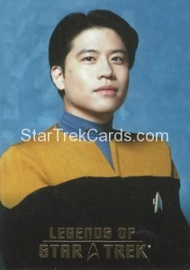 Legends of Star Trek Trading Card Harry Kim L1