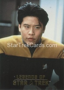 Legends of Star Trek Trading Card Harry Kim L2