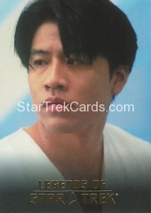 Legends of Star Trek Trading Card Harry Kim L4