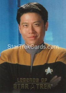 Legends of Star Trek Trading Card Harry Kim L5