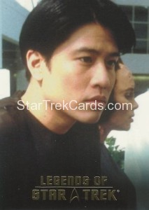 Legends of Star Trek Trading Card Harry Kim L7