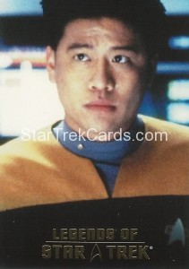 Legends of Star Trek Trading Card Harry Kim L8