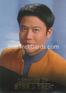 Legends of Star Trek Trading Card Harry Kim L9