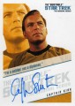 The Quotable Star Trek Original Series Trading Card QA1 Im a soldier not a diplomat