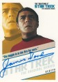 The Quotable Star Trek Original Series Trading Card QA7 The Haggie is in the Fire For Sure