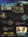 The Quotable Star Trek Original Series Trading Card Sell Sheet Front