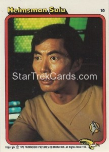 Star Trek The Motion Picture Colonial Bread Trading Card 10