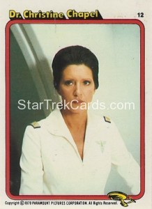 Star Trek The Motion Picture Colonial Bread Trading Card 12