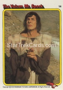 Star Trek The Motion Picture Colonial Bread Trading Card 14