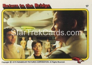 Star Trek The Motion Picture Colonial Bread Trading Card 17