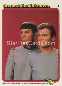 Star Trek The Motion Picture Colonial Bread Trading Card 2