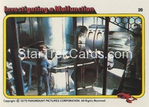 Star Trek The Motion Picture Colonial Bread Trading Card 20