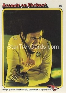 Star Trek The Motion Picture Colonial Bread Trading Card 22